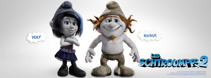 The Smurfs 2 3d Live Wallpaper Dans Les Schtroumpfs 2 Gargamel Cr 233 Era Un Couple De Faux
