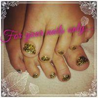 17 Best ideas about Leopard Toe Nails on Pinterest
