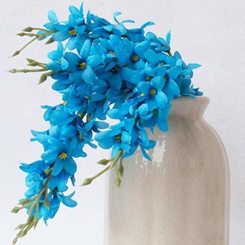 1000+ Ideas About Blue Flower Arrangements On Pinterest | Mason
