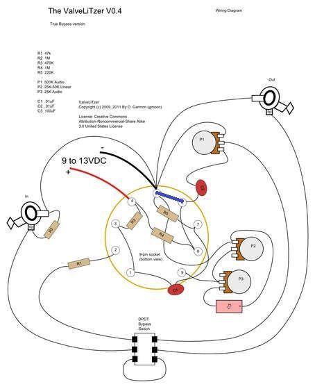 bass tube wiring diagram