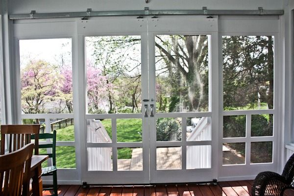Screen Porch Doors 25+ Best Ideas About Sliding Screen Doors On Pinterest