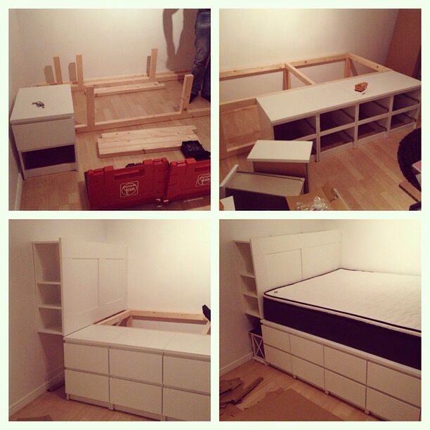 1000+ Ideas About Build A Bed On Pinterest   Bed Frames, Bed Frame
