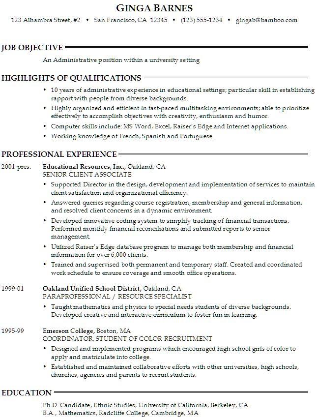 free homework templates ang nais kong maging trabaho essay - good objective statement for resume