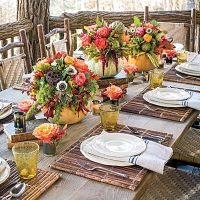 Let Nature Inspire Your Table - Fabulous Fall Decorating ...