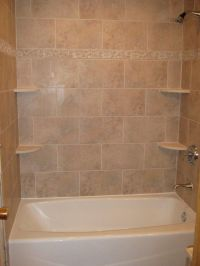 bathtub walls or do we rip out the tub and shelving unit ...