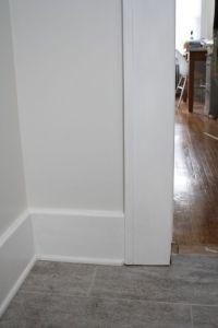 interior door trim options | Door trim meets floor trim ...