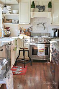 Cozy Farmhouse Style In Our Kitchen | Farmhouse kitchen ...