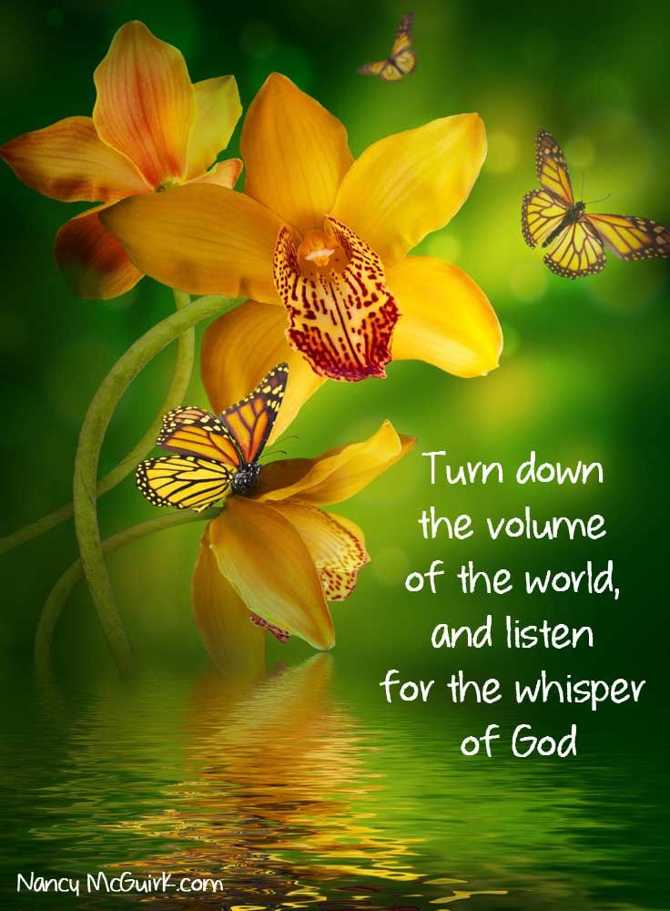 Download Free Encouragement Wallpaper Quotes Quot Turn Down The Volume Of The World And Listen For The