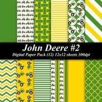 John deere, Digital papers and Paper on Pinterest