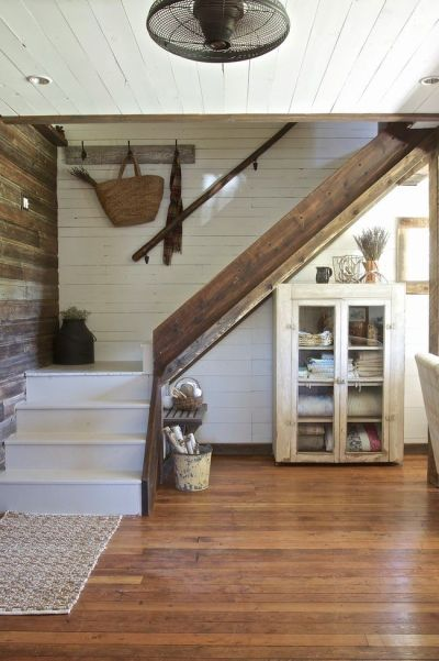 25+ Best Ideas about Farmhouse Stairs on Pinterest | Spindles for stairs, Attic and Bohemian ...