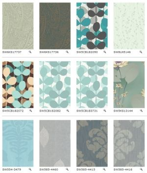 Sherwin Williams removable wallpaper | For the home: Living Rooms | Pinterest