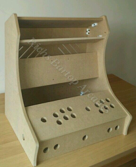 Bartop Arcade Machine 2 Player Diy Flat Pack Kit 12mm Mdf