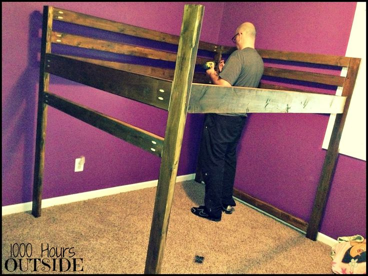 Make Your Own Loft Bed Woodworking Projects Plans