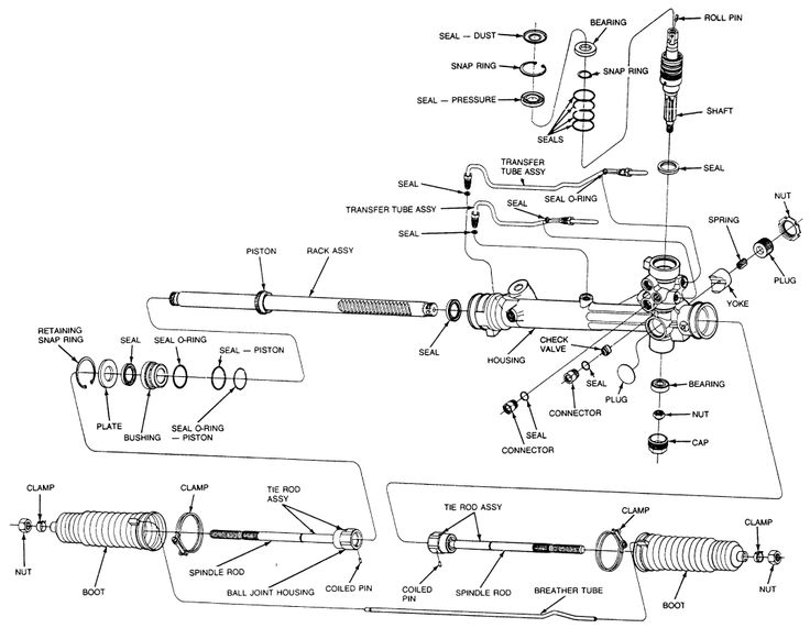 2003 ford thunderbird parts diagram