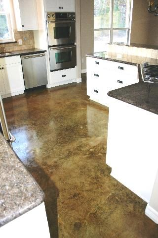 8 Best Images About Acid Washed Concrete Floors On