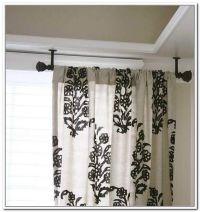 Best 20+ Ceiling mount curtain rods ideas on Pinterest