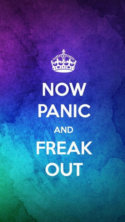 NOW PANIC AND FREAK OUT, the iPhone 5 KEEP CALM Wallpaper ...