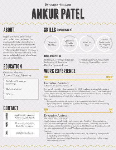 16 Most Creative Resumes Weve Ever Seen Financial Post 17 Best Images About Creative Resume Examples On Pinterest