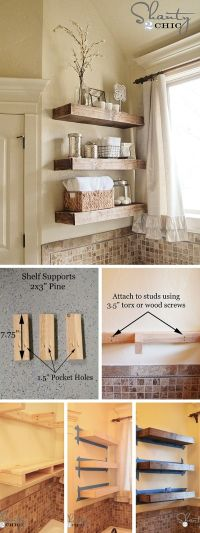 25+ best ideas about Rustic bathroom decor on Pinterest ...