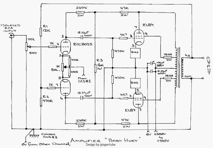 rca audio diagram
