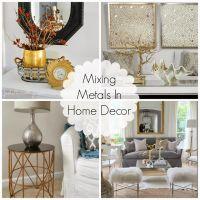 66 best COLOR: Metallic Home Decor images on Pinterest