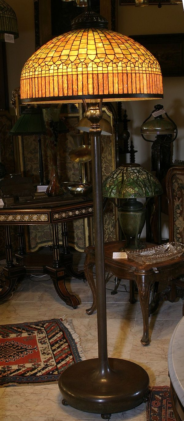Antique floor lamp with table - Download Find This Pin And More On Tiffany Lamps Antique Floor Lamp With Table
