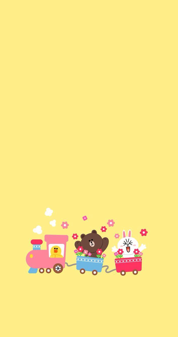Kakao Friends Iphone Wallpaper 17 Best Images About Line Friends(≧ ≦) On Pinterest