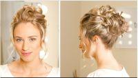 bridal hair - updo, curly bun | Bridal hair | Pinterest ...