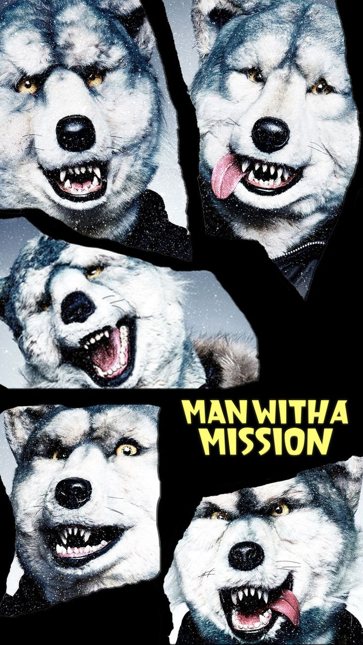 Iphone Plus Wallpaper Man With A Mission マンウィズ 25 Iphone壁紙 Iphone 7 7 Plus 6