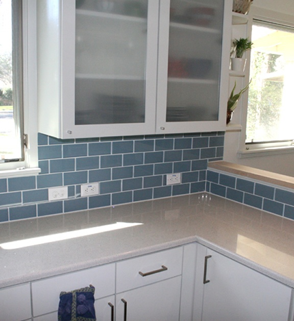 What Color Should I Paint My Kitchen Island 17 Best Ideas About Blue Subway Tile On Pinterest | Blue