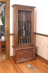 Build Your Own Gun Cabinet Plans - WoodWorking Projects ...