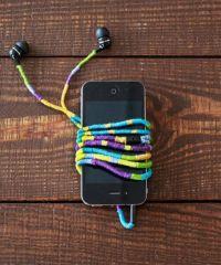 Diy Headphones - How To Wrap Earbud Cord | Headphones