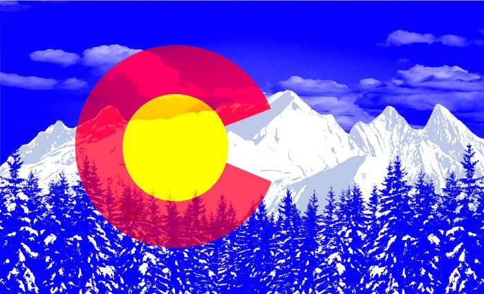 Black Lab Fall Wallpaper Colorado Flag Pop Art Wallpaper Interesting Flags