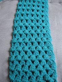 Granny Tears Scarf free crochet pattern
