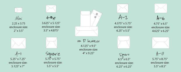 Best 25 Envelope Size Chart Ideas On Pinterest Legal