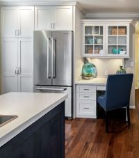 25+ best ideas about Kitchen Desks on Pinterest | Kitchen ...
