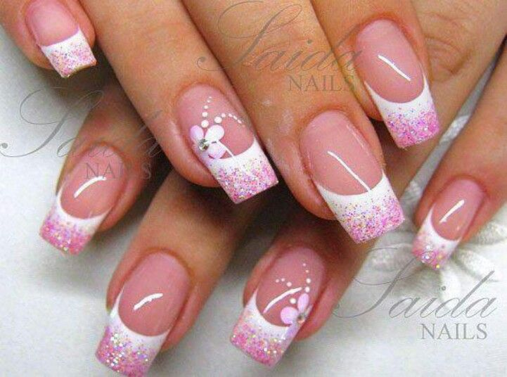 25 Best Ideas About French Nail Art On Pinterest French