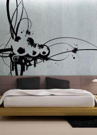 Modern Soccer - uBer Decals Wall Decal Vinyl Decor Art ...