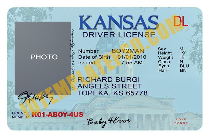 photoshop id card template