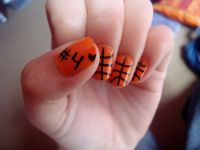 Basketball nails-when basketball season starts! | Nails ...