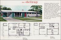 Mid Century Modern House Plans   Mid Century Modern Ranch ...