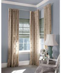 Decorating  Curtain Rod For Corner Window - Inspiring ...