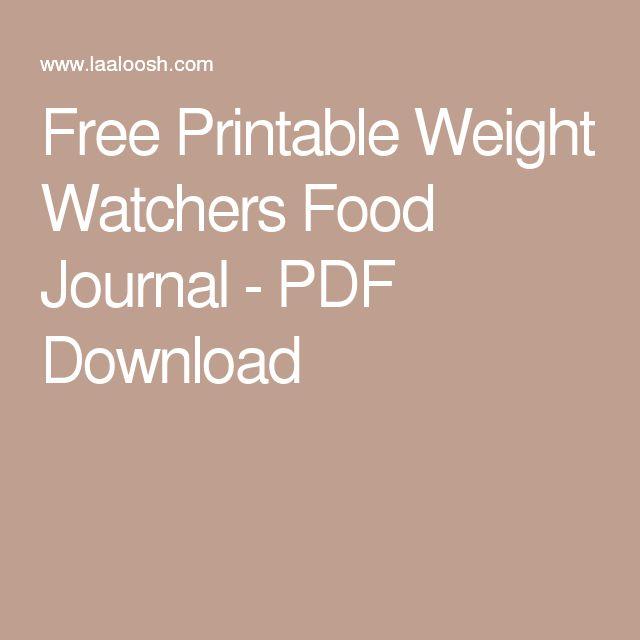 weight watcher free food