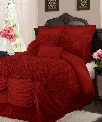 1000+ ideas about Red Comforter on Pinterest | Comforter ...