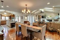 kitchen dining room hearth room combo