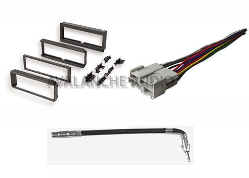 gm car stereo wiring harness