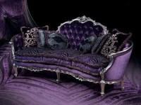 Victorian purple velvet couch | Passionate @ Velvet ...