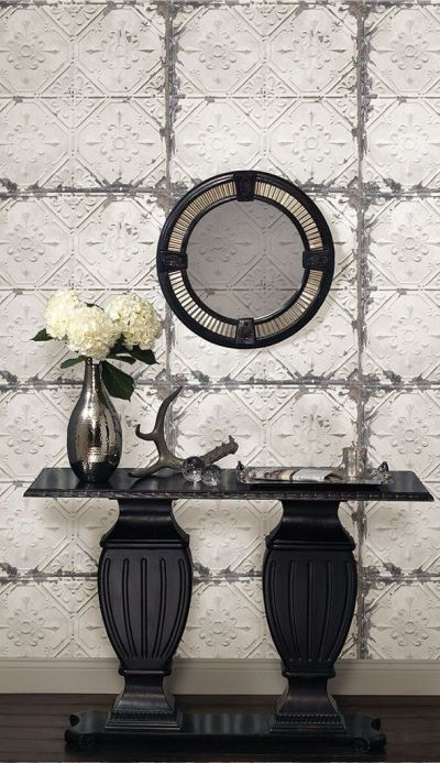 Best 20+ Tin Tiles ideas on Pinterest | Faux tin ceiling tiles, Cheap wall tiles and ...