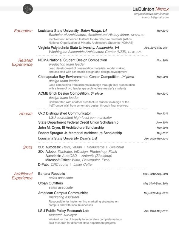 Research Resume Examples - Examples of Resumes