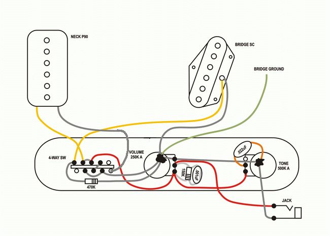 brian may guitar wiring